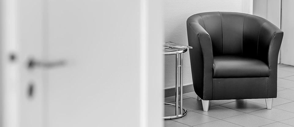 Bild zeigt einen Sessel